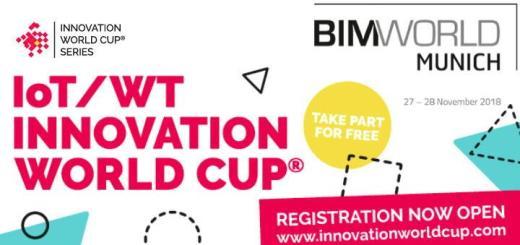 Erstmals können sich Unternehmen im Rahmen der BIM World Munich am Innovation World Cup beteiligen und dazu den Sonderpreis BIM / Smart Construction Award gewinnen