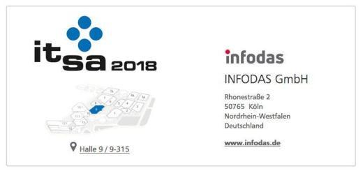 Infodas zeigt auf der it-sa 2018 Hacker-sichere Netzwerk-Karten und sichere IoT-Lösungen