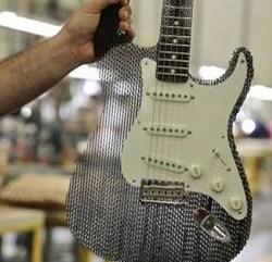 Fender Custom Shop cardboard Stratocaster Guitar