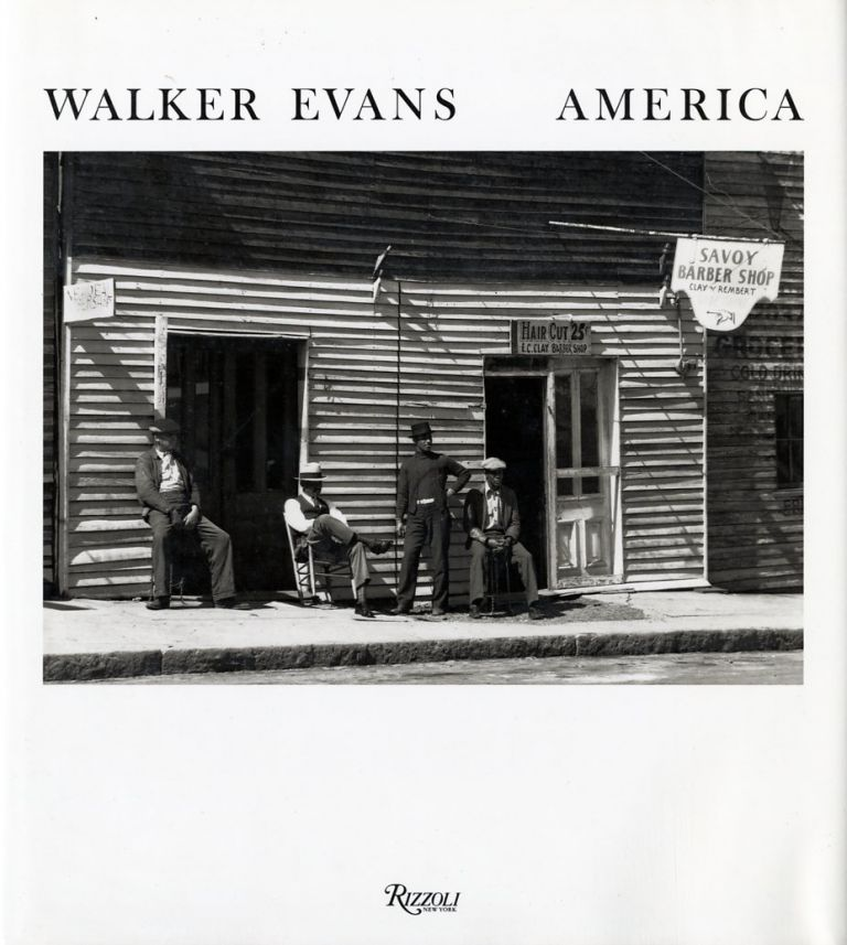 WALKER EVANS - AMERICA; With an essay by Michael Brix Michael