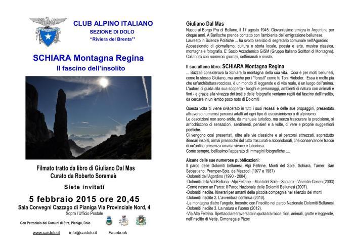 Schiara Montagna Regina - G. Dal Mas
