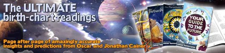 Daily Horoscope - Oscar and Jonathan Cainer Horoscopes
