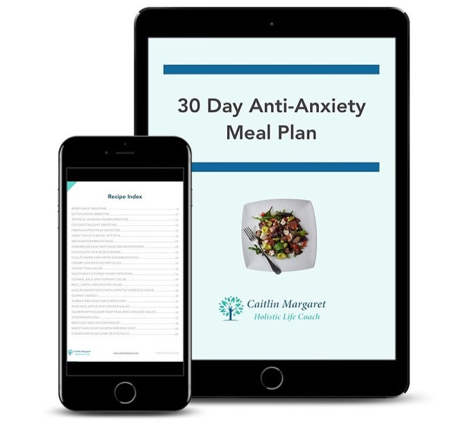 Anti anxiety meal plan