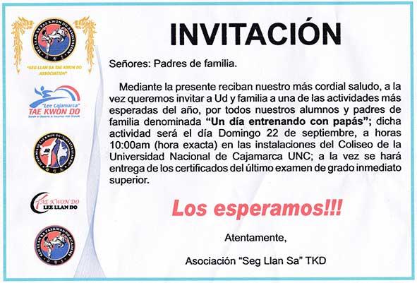 Invitaciones - 2013