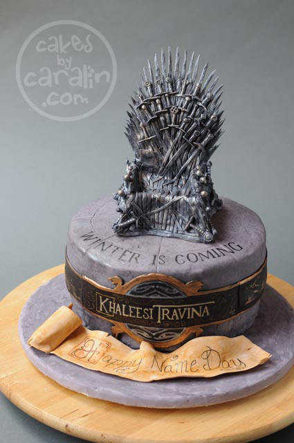 Game of Thrones Cake by Caralin Fleet