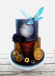Gothic Steampunk Cake