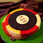 Poker Chips Groom's Cake