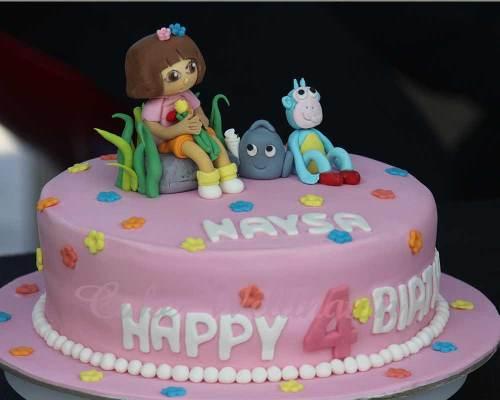 Medium Of Girls Birthday Cakes