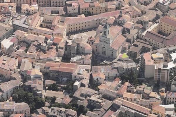 Catanzaro -Centro storico - vista da sud