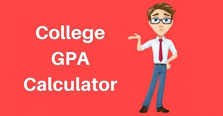 Grade Calculator College GPA Calculator - gpa chart