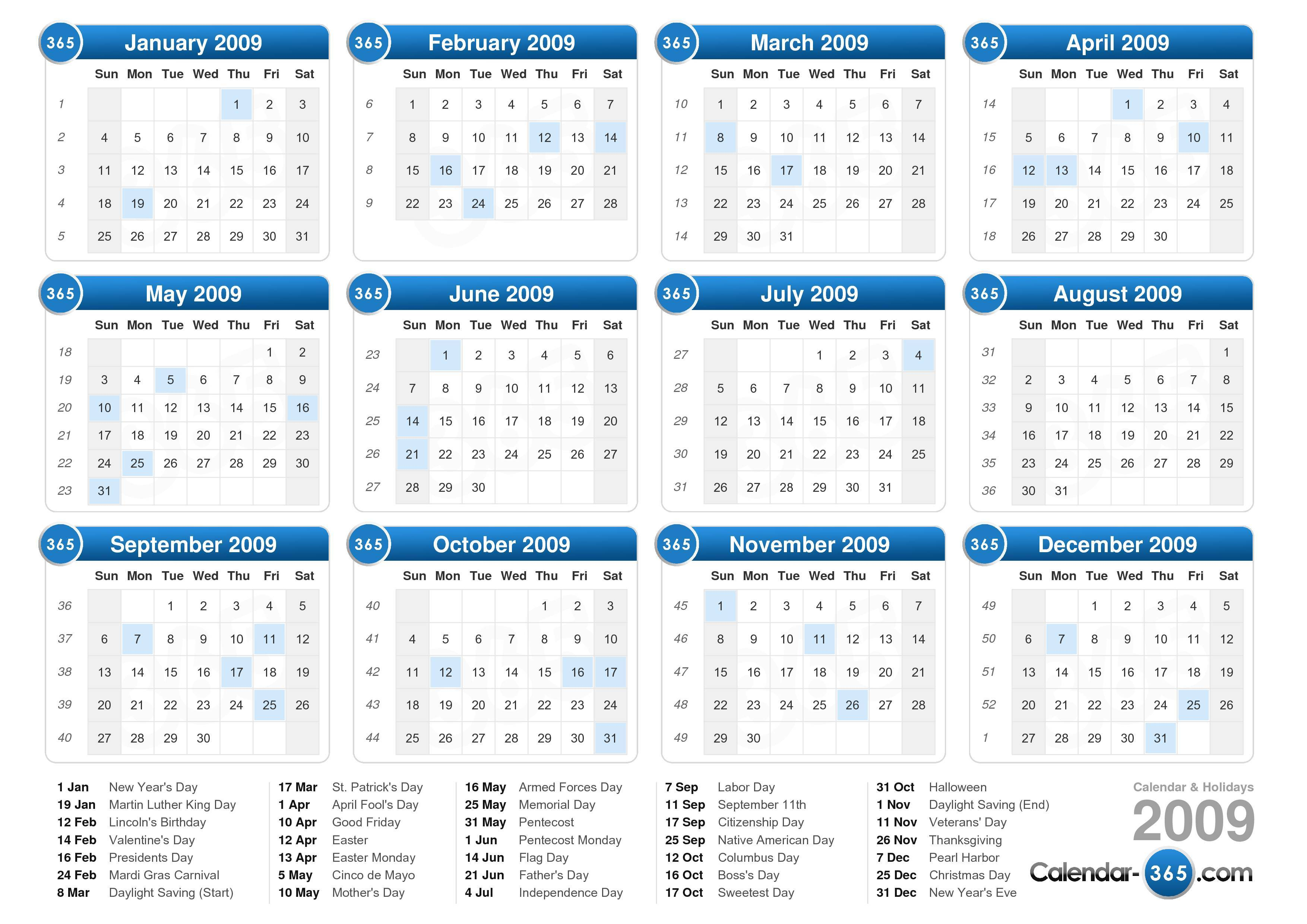 2009 Yearly Calendar Excel Calendar Archives Excel Templates Kalender 2009 New Calendar Template Site