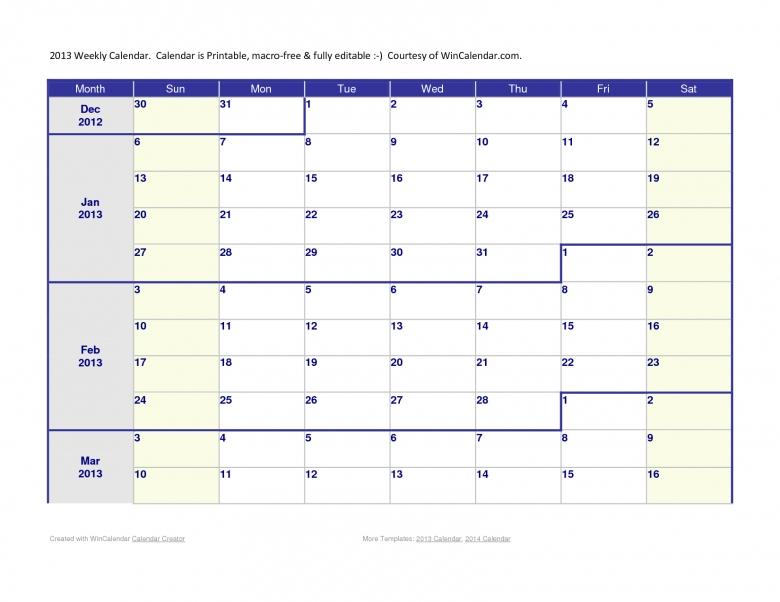 free six month calendar templates - Teacheng
