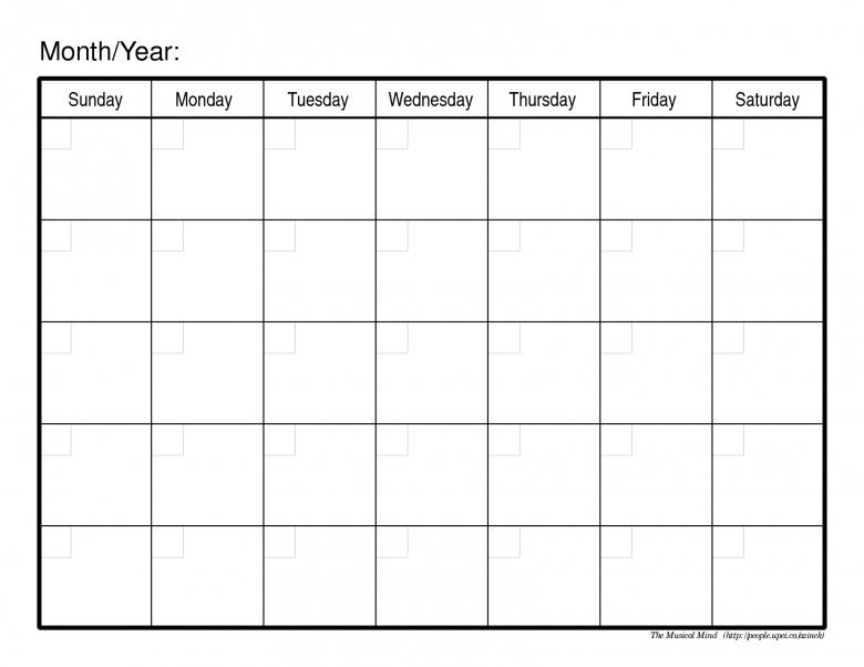 lined calendar template - Towerssconstruction