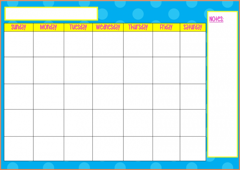 Vacation Schedule Template Family Vacation Planner Template – Monday to Sunday Schedule Template
