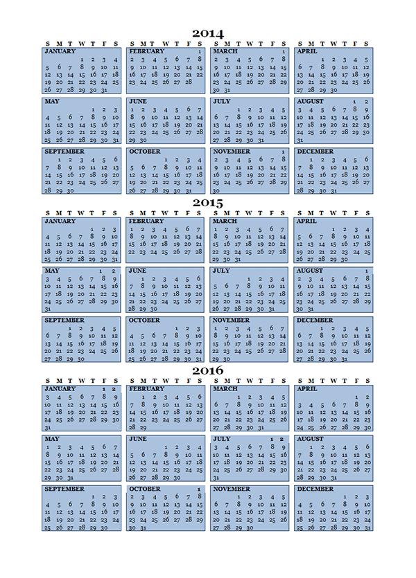 editable word calendar