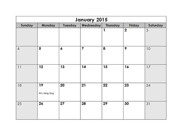 Calendar Templates Libreoffice Libreoffice Templates 2015 Monthly Calendar Free Printable Templates