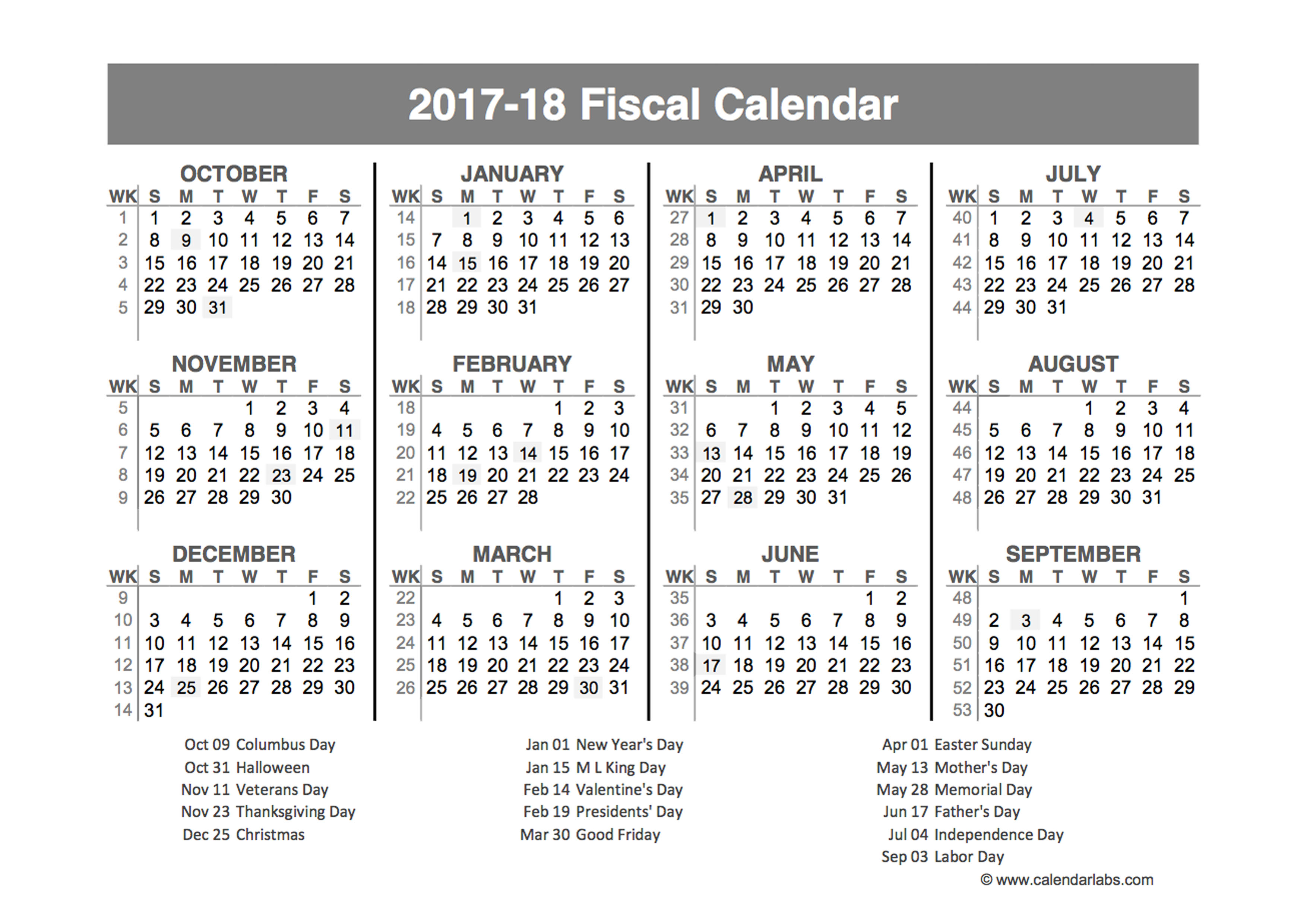 Fiscal Year Wikipedia Fiscal Year Calendar For 2017 Calendar Template 2016
