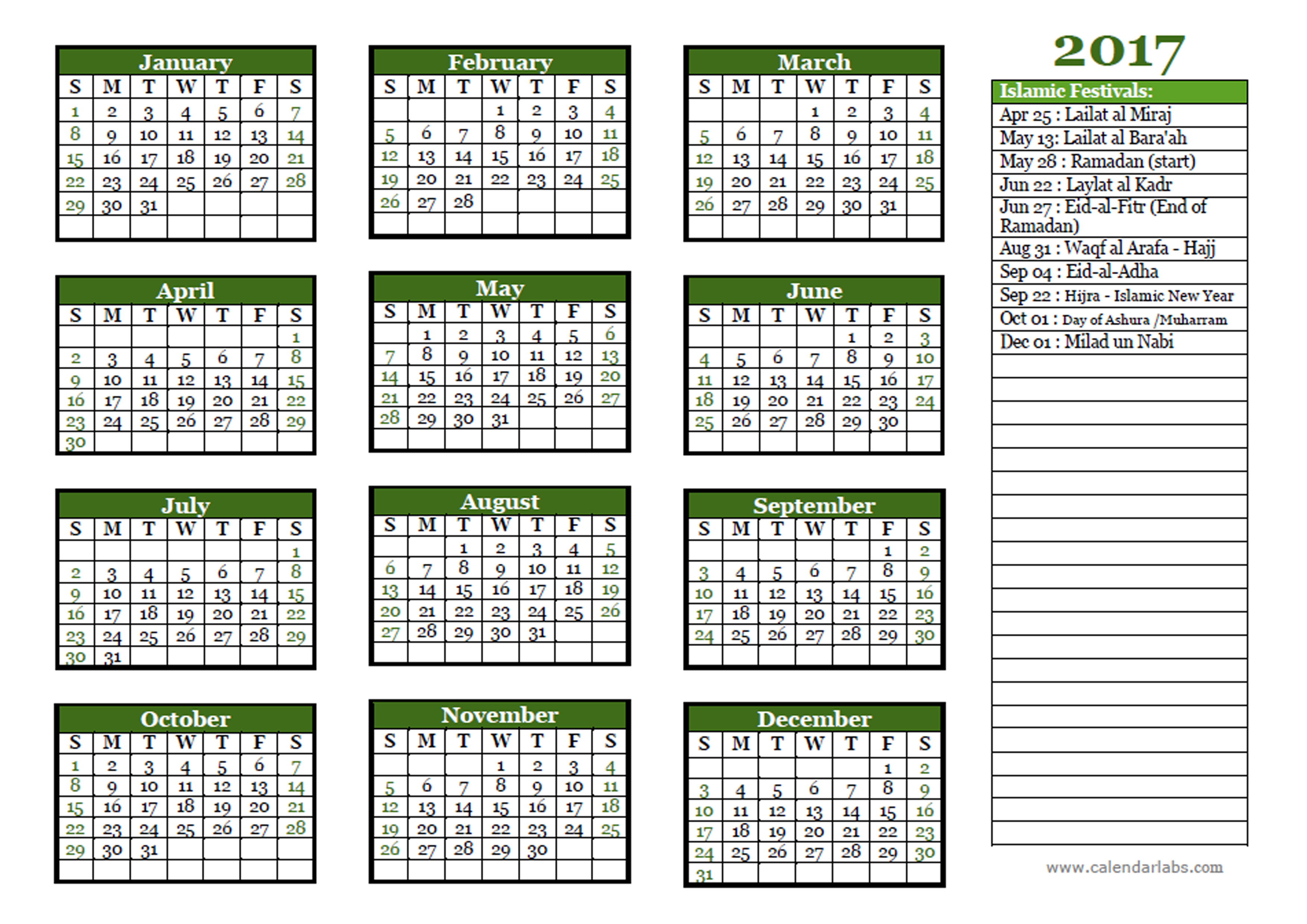 Julian And Gregorian Calendars For 2017 Year 2017 Calendar Gregorian Calendar Time And Date 2017 Islamic Festivals Calendar Template Free Printable