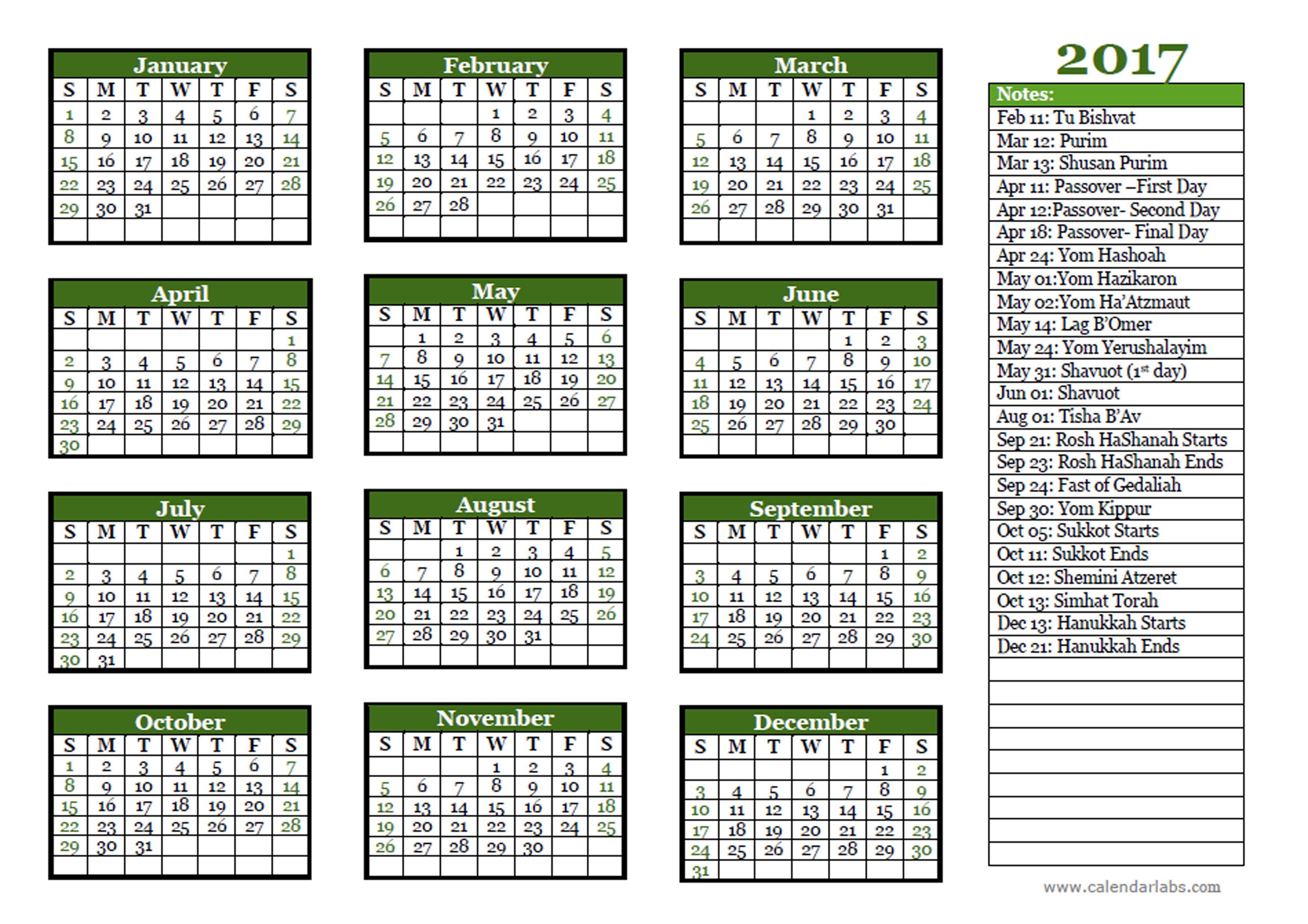 Online Calendar Uk Sept Uk Laser Association 2017 Jewish Festivals Calendar Template Free Printable