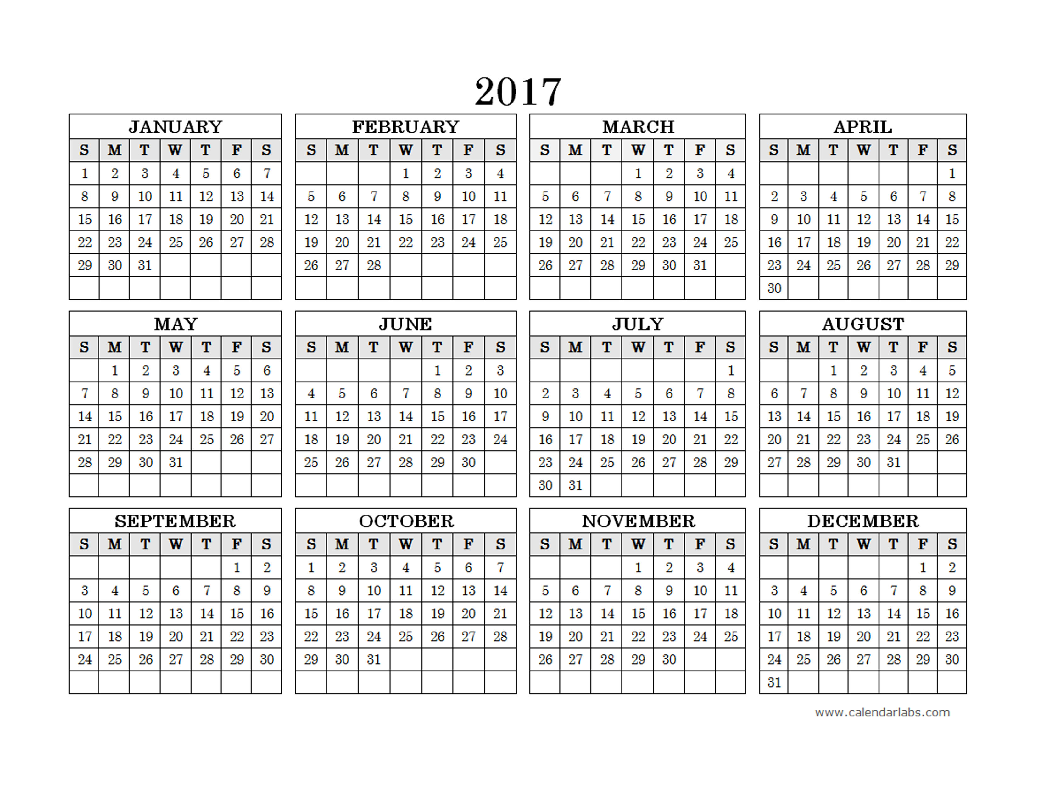 Yearly Calendar New Zealand | Printable Calendar Calendar Labs