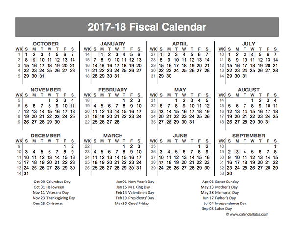 Free Custom Calendar Customize Print Your 2018 Calendars 2017 Fiscal Year Quarters Template Free Printable Templates