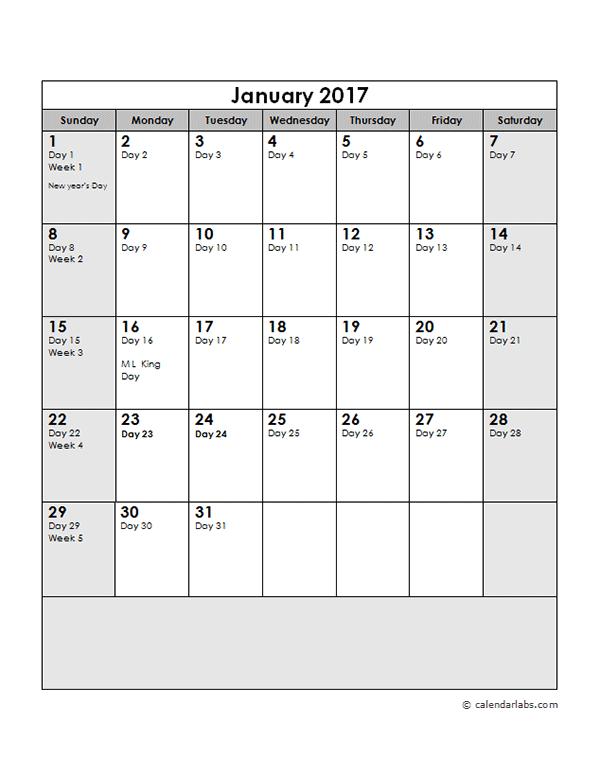 Calendar Template 2013 Word Document 2017 Calendar 17 Free Printable Word Calendar Templates 2017 Calendar With Julian Dates Free Printable Templates