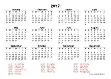 Excel Calendar Template Download Free Printable Excel 2017 Excel Calendar Template Download Free Printable