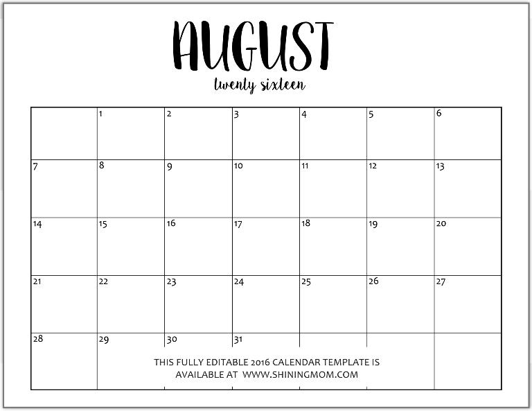 Cute November Calendar Wallpaper Editable Blank Monthly Calendar Template Calendar