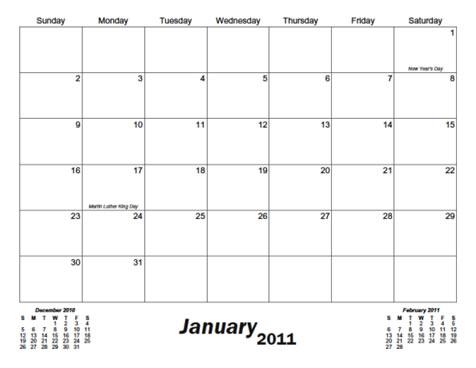 day by day calendar printable - Asafonggec