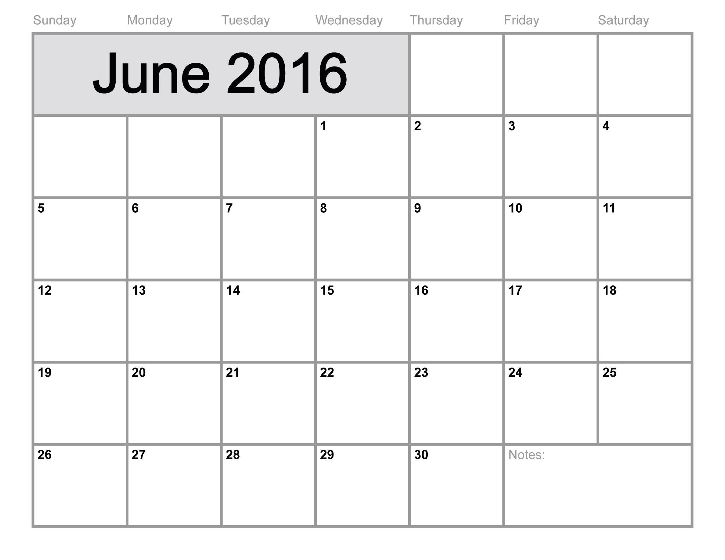 Monthly Calendar Templates For Teachers Blank Monthly Calendar Office Templates Blank June 2016 Calendar Printable Calendar Template 2017