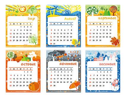 Free Calendar Template Kids Images - Template Design Free Download - kids calendar template