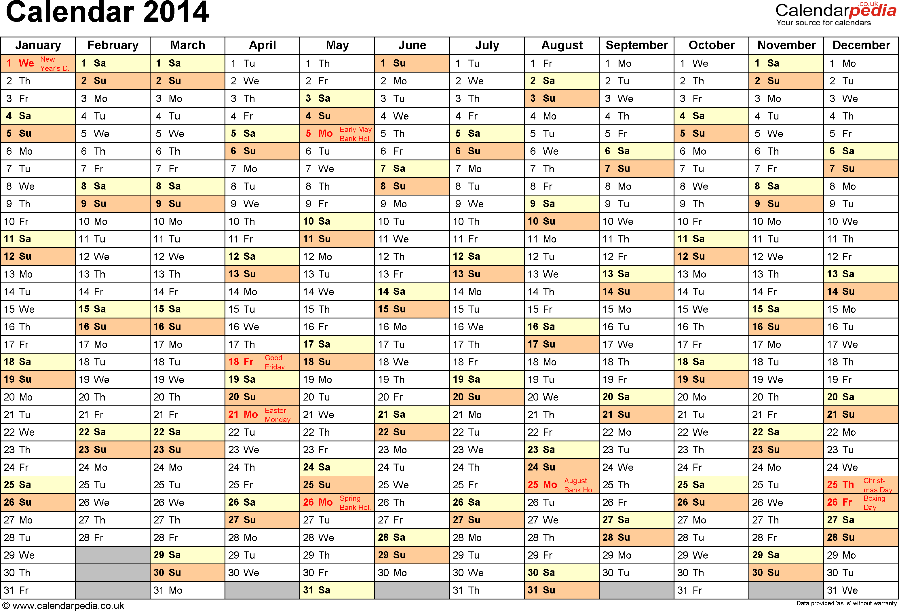 Calendar Date Selection In Excel How To Make A Calendar Template In Excel Makeuseof Calendar 2014 Uk With Bank Holidays And Excelpdfword Templates