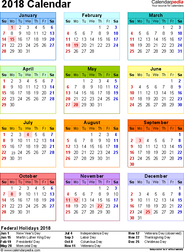 Calendar Date Selection In Excel Put A Date Picker Calendar On An Excel Worksheet 2018 Calendar With Federal Holidays And Excelpdfword Templates