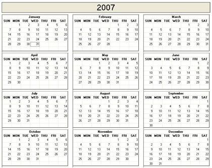 Custom Calendar Generator Free Monthly Calendar Or Planner Printable Online Printable 2007 Calendar Calendar Template 2016