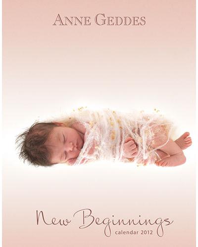 Anne Geddes baby calendar planner 2016