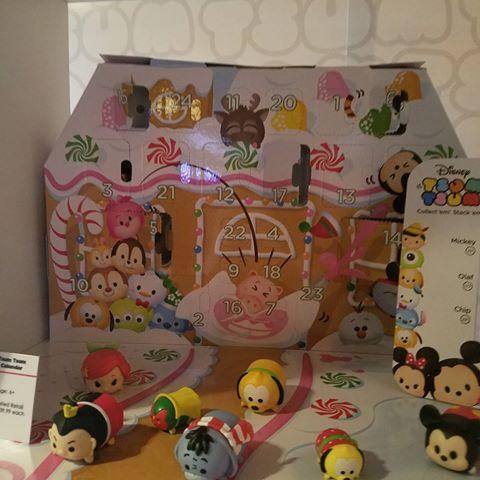 Disney Tsum Tsum Advent Calendar 2016