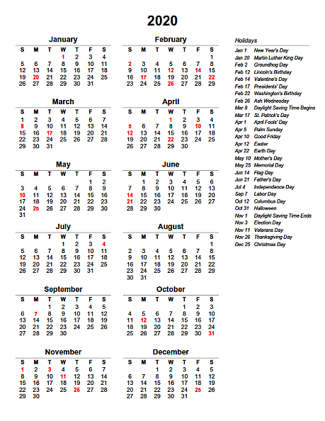 Printable Yearly Calendar For 2015 Yearly 2015 Printable Calendar Eprintablecalendars Yearly Calendar With Holidays New Calendar Template Site