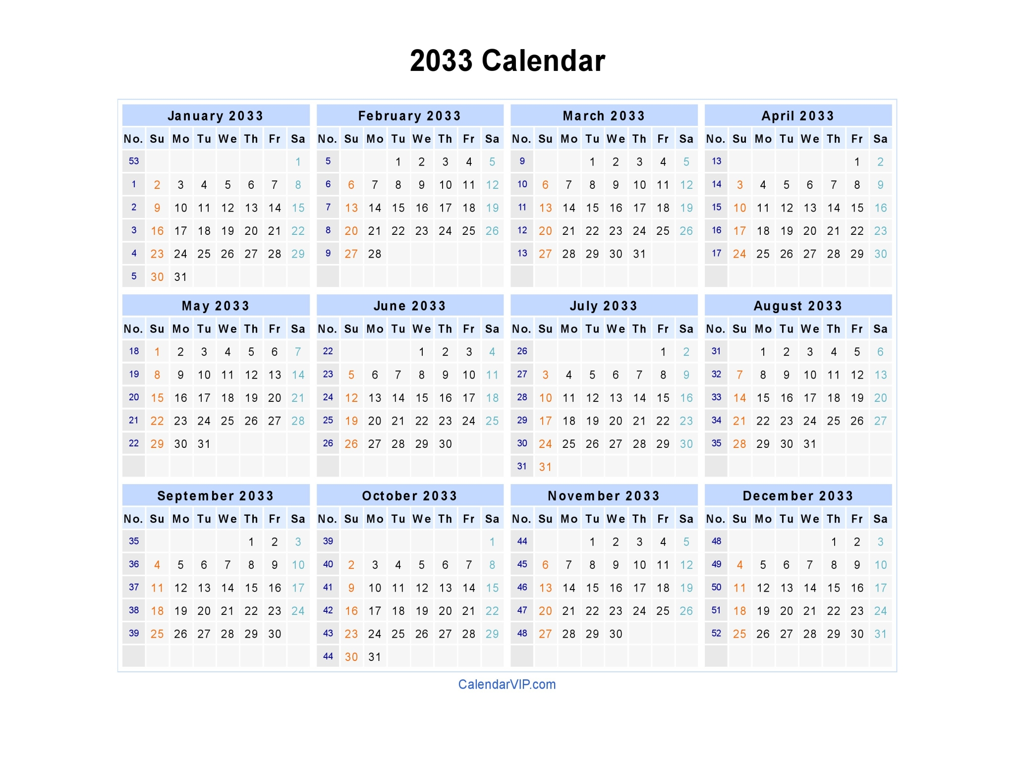 2014 Yearly Calendar Template In Word 2014 Calendar Pdf 13 Free Printable Calendar Templates 2033 Calendar Blank Printable Calendar Template In Pdf