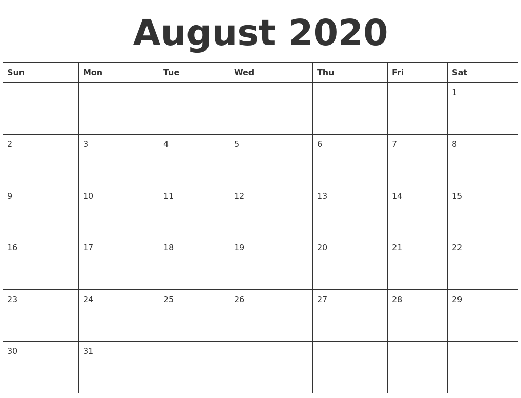 Blank Calendar Print Out Calendar Picture Templates July 2020 Calendar Print Out