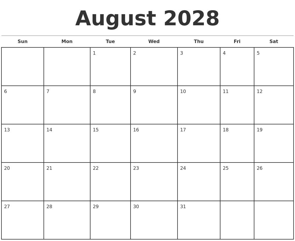 Calendar Template Free 2017 Calendar Customize Calendar 2017 Calendar Template April 2028 Free Calendar Template