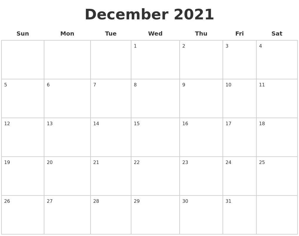 Calendar December Calendar Month Time And Date March 2022 Printable Calender