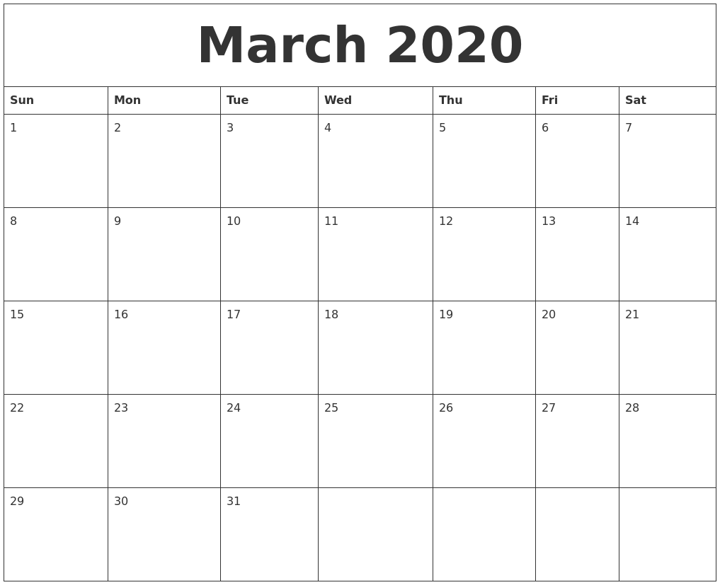 Calendars To Print Out Print Free Printable Flash Cards March 2020 Print Out Calendar