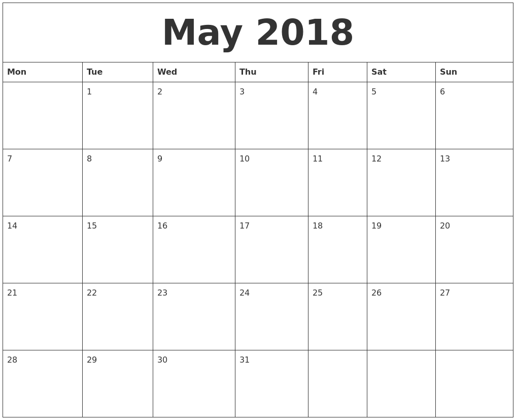 Free Calendar 2017 Calendar 2017 Calendar Canada Time And Date May 2018 Calendar