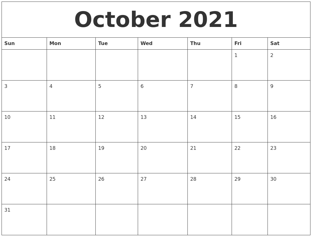 Free Calendar Templates With Photo Free Photo Calendar Templates 2018 Add Your Picture October 2021 Calendar Templates Free