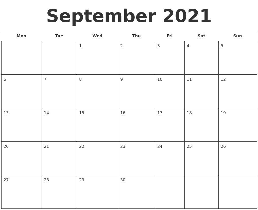 Calendar Template Free Free Editorial Calendar Template Bobangus September 2021 Free Calendar Template
