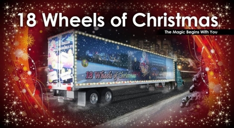 18 wheels of christmas