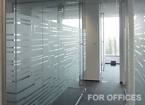 WINDOW FROSTING CALGARY GLASS ETCHING for Office Windows