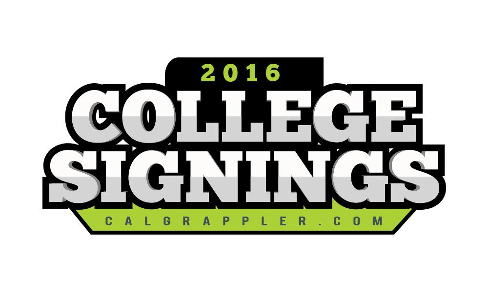 California Wrestling College Signings 2016