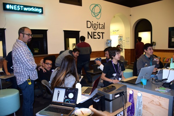 Digital NEST Nurtures High-Tech Skills in Low-Income Youth