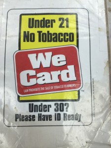 Retailers roll with new restriction on tobacco sales to minors